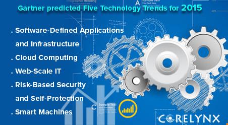 Gartner predicted Five Technology Trends for 2015