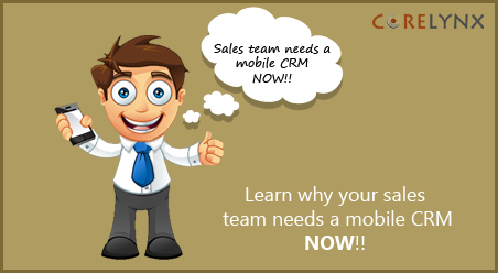 Learn why your sales team needs a mobile CRM NOW