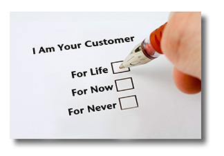 Five key lessons to create customers for life