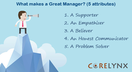 What makes a Great Manager? (5 attributes)